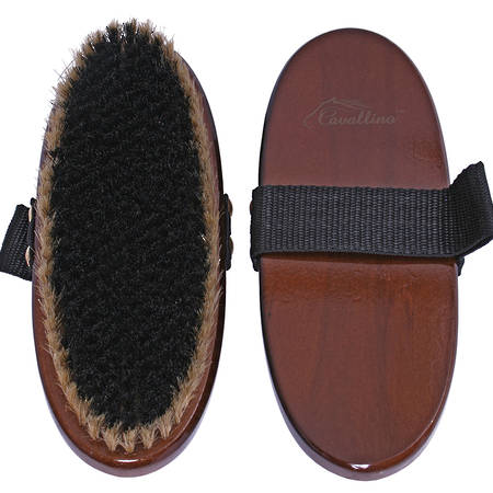 Cavallino PVC/Pig Bristle Body Brush