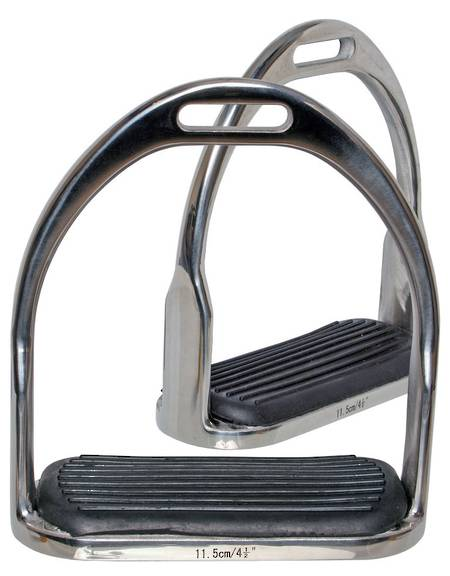 Bluetag SS Stirrup Irons with Treads