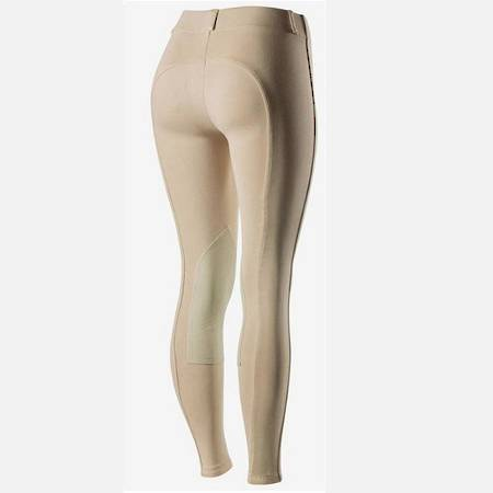 Horze Ella Ladies' Pull-On Knee Patch Breeches