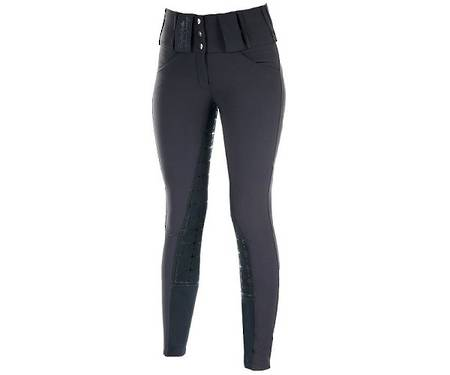 Horze Desiree Ladies' Leather Full Seat Breeches