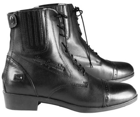Horze Hampton Leather Jodhpur Boots