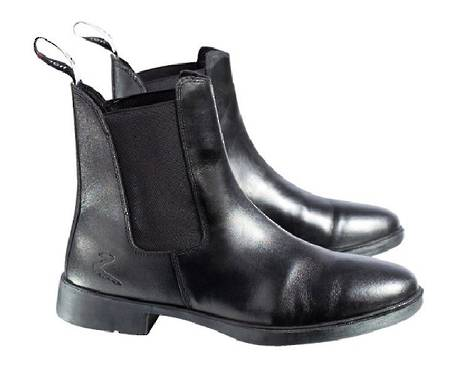 Horze Signature Leather Jodhpur Boots