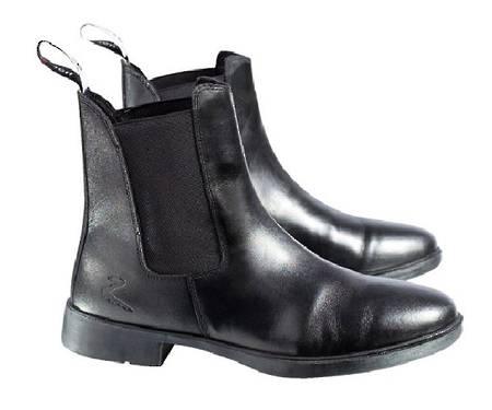 Horze Signature Leather Jodhpur Boots