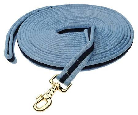 Kincade Two Tone Padded Lunge Rein
