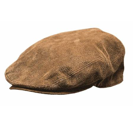 Outback Ascot Leather Cap - 14834