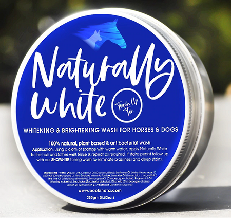 Bee Kind Naturally White' Soap Wash in a Tin!