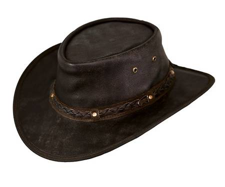 Outback Ironbark Leather Hat - 1377