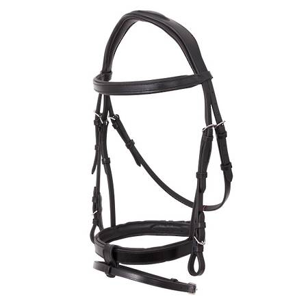 Platinum Anatomical Flat Padded Bridle