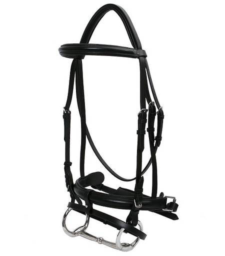 Platinum Dressage Crank Hanoverian Bridle