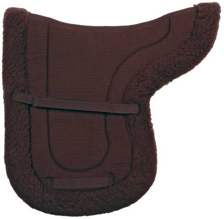 Blue Tag Shaped Dressage Saddlecloth