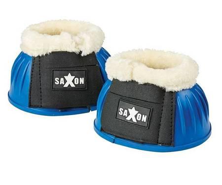 Saxon Fleece Trim Rubber Bell Boots