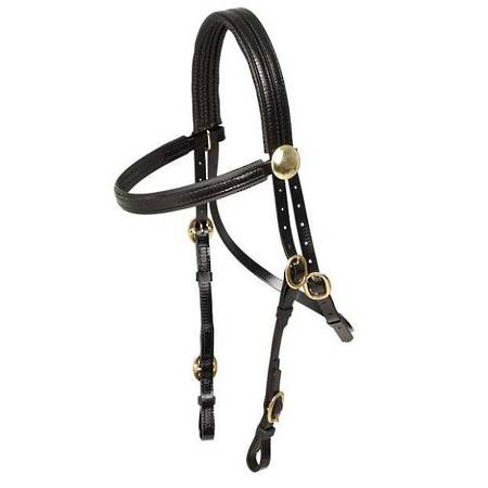 Zilco Brass Buckle Race Bridle