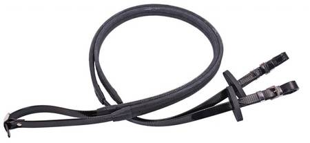 Flair Billet End Rubber Grip Reins