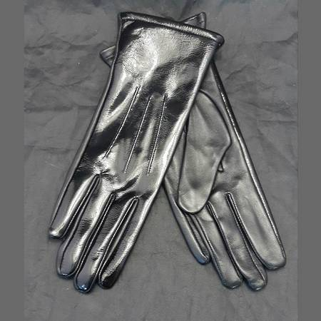 Hurlford Elite Patent Leather Gloves - Adults