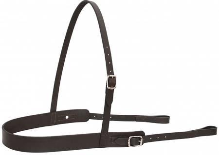 Flair Flat Leather Breastplate