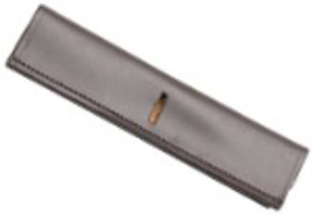Aintree Curb Chain Cover- Closed Leather