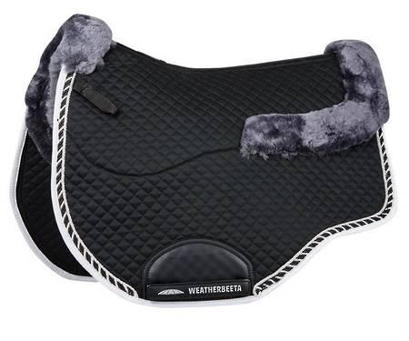 Weatherbeeta Euro Shaped Sheepskin All Purpose Saddle Pad II