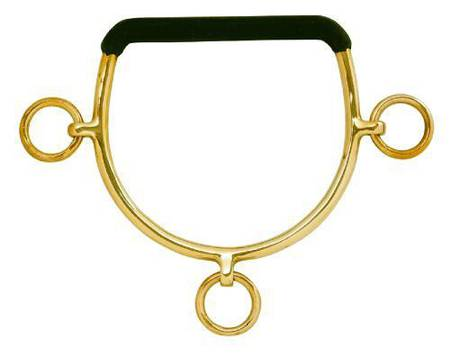 Brass Rubber Guarded Anti Rearing-BT