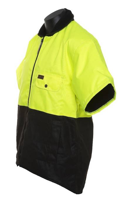 Hi Vis Outback Sleeved Vest-6040