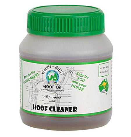 World Best Hoof Oil Hoof Cleaner
