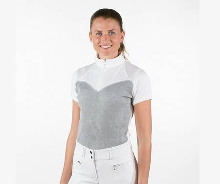 Horze Michaela Ladies' Show Shirt with Mesh