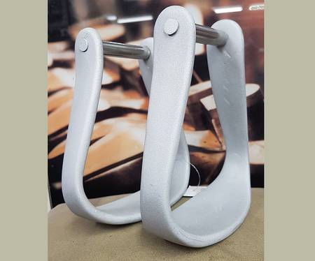 Aluminium Oxbow Stirrup Irons