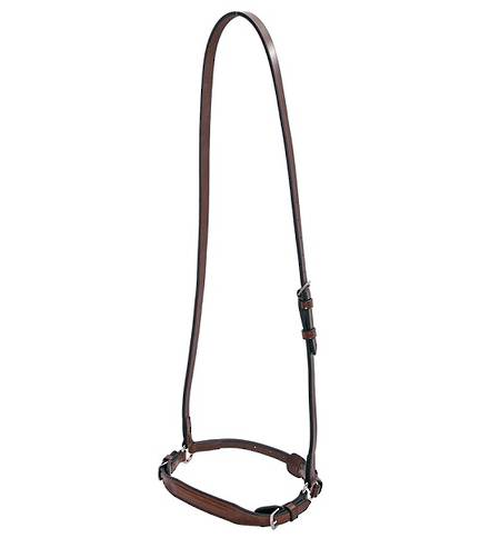 Platinum Raised Drop Noseband