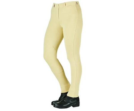 Saxon Cotton Pull On Jodhpurs - Ladies