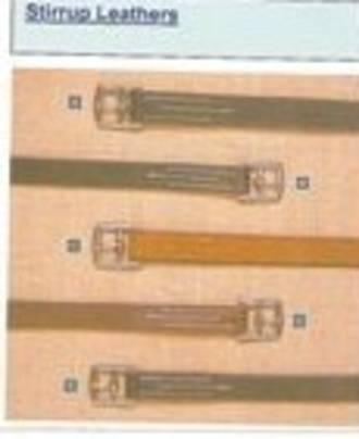 Stubben Stirrup Leathers -1 1/8 inch