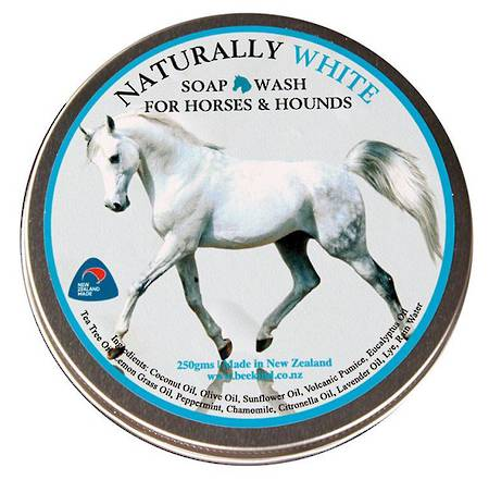 Naturally White' Soap Wash For Horses & Hounds in a Tin!