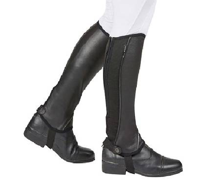Dublin Super Flex Fit Half Chaps - Childs