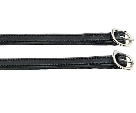Zilco Aintree Stitched Leather Spur Strap