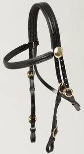 Zilco Race Bridle with Brass Buckles