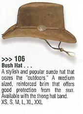 Selke Bush Hat