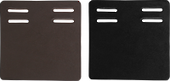 Flair Leather Girth Guards-2 Slot