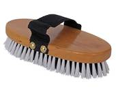 Blue Tag Wooden Back Body Brush