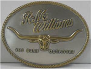 RM Williams Logo Buckle CG219