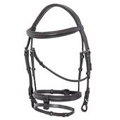Platinum Padded Raised Anatomical Bridle