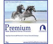 Calm Healthy Horses - Premium NZ Horse Minerals