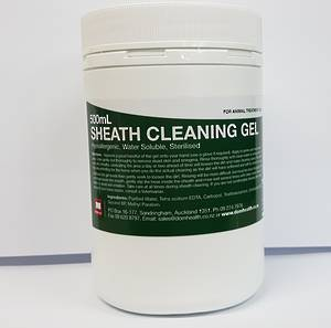 Sheath Cleaning Gel