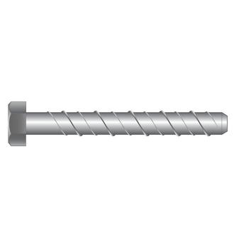 Screw Bolts Hex Galv