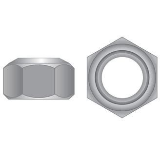 Imperial Zinc Cone Lock Nuts