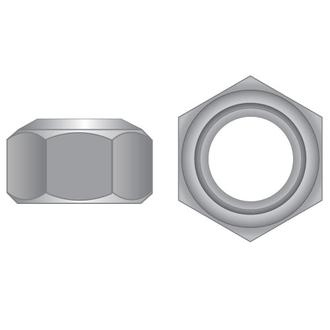 Metric Zinc Cone Lock Nuts