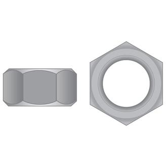 Hex Full Nuts T304 SS UNC