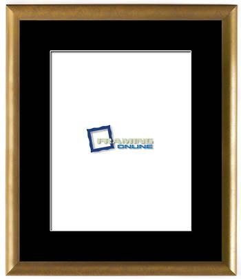 "11""x14"" Gold Frame Black Mat 802gbr210"