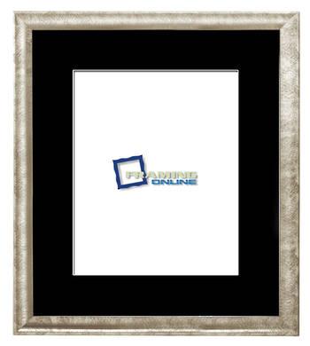 "8""x10"" Silver Frame Black Mat 802sbr210"
