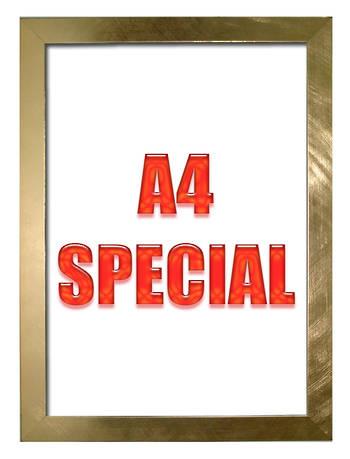 A4 Gold Frame 2782