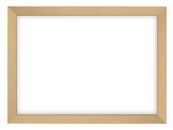 A5 Blonde Frame with Hanger