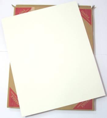 Cream Matboard Sheet