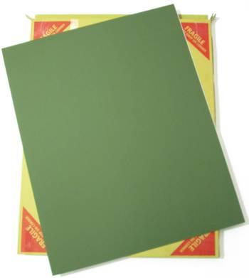 Green Matboard Sheet